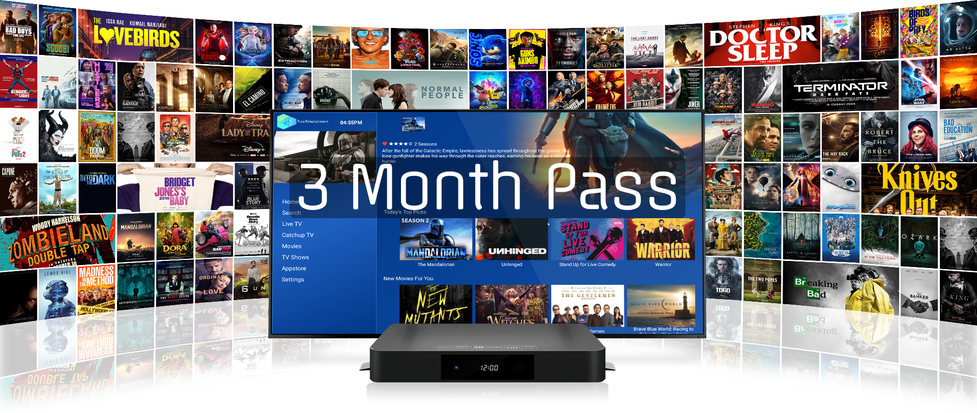 PureTV - IPTV Product Image - 3 Month